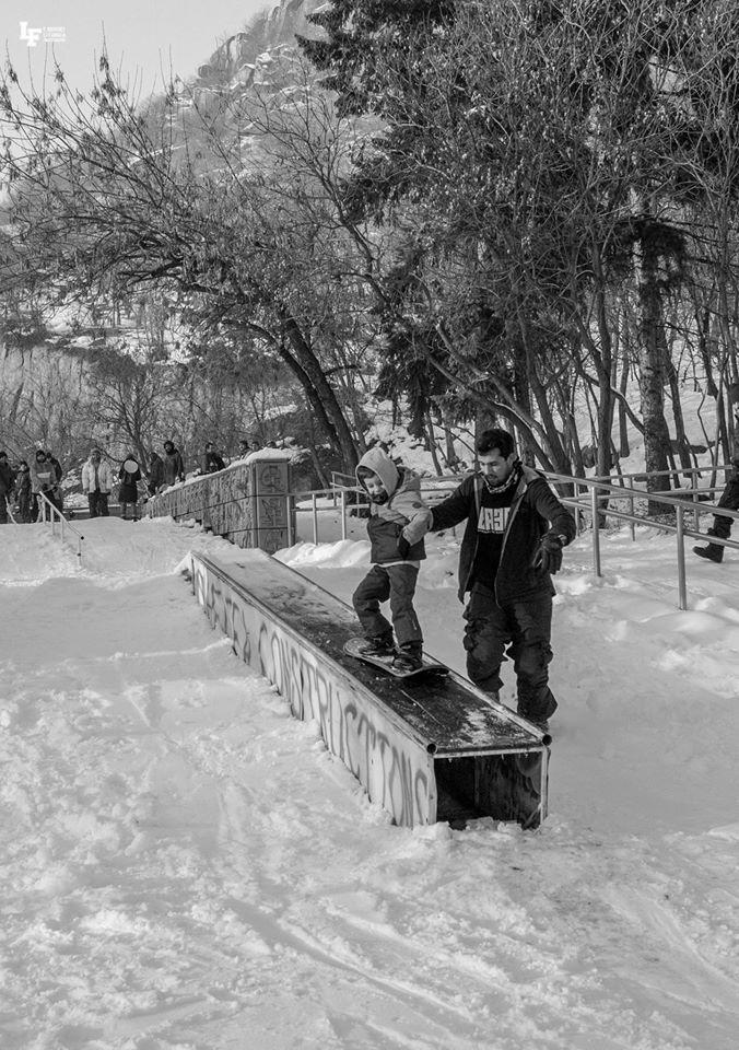 сноуборд, деца, пловдив, младежки хълм, кюфтета, jib