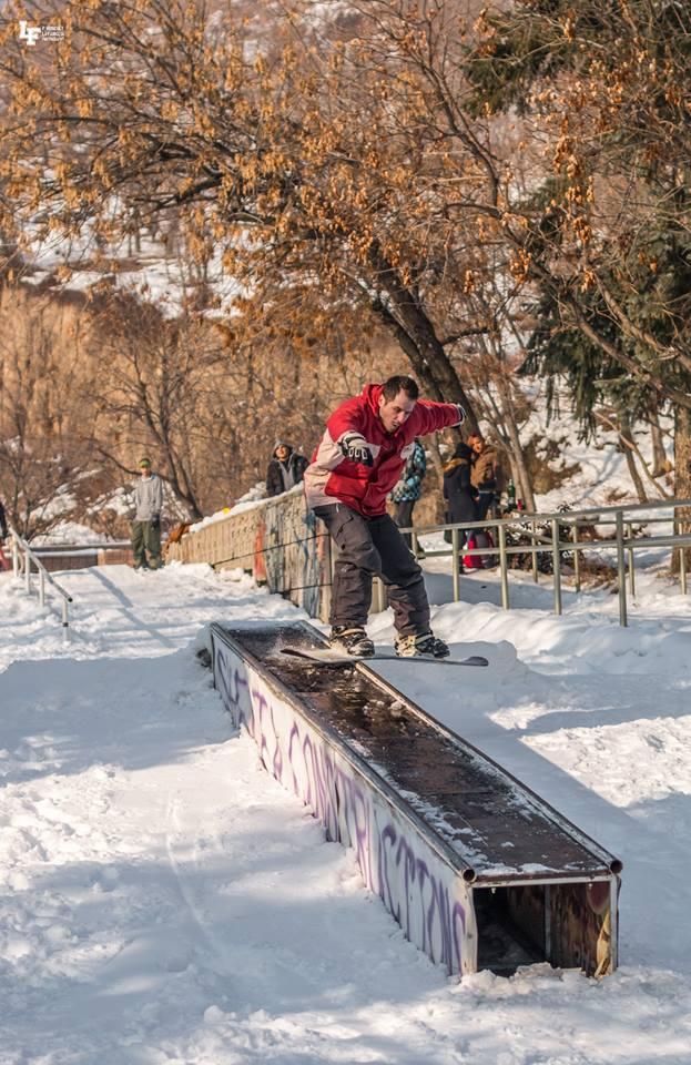 snowboard, сноуборд, пловдив, младежки хълм, сняг, pharside