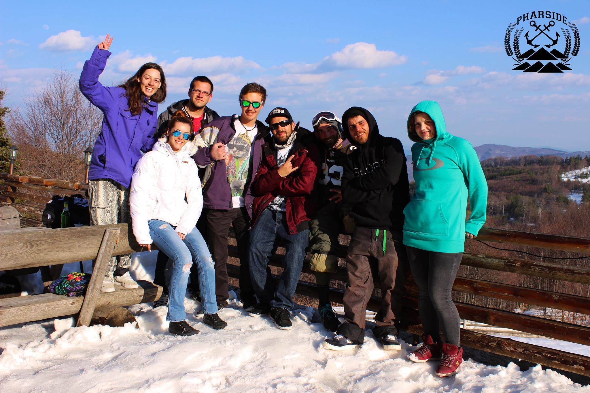 сноуборд, лагер, сноуборд уроци, осогово, база, pharside