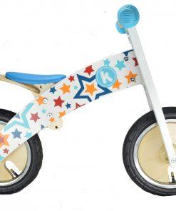колело за баланс, колело без педали, детски колела, база, звездички, дървено колело,