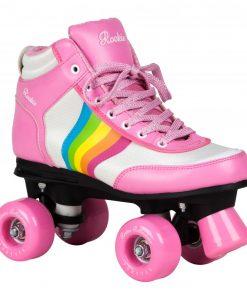 ролкови кънки, ролкови кънки с 4 колела, дамски ролкови кънки, ролкови кънки за момичета, ролери, детски кънки, розови кънки, rookie skates, сой луна, БАЗА, кънки, магазин за кънки и ролери