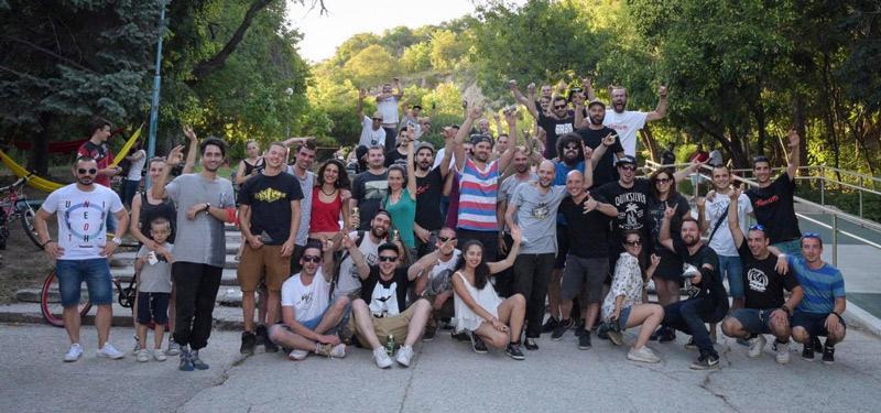 Пловдив, състезание по кънки, pharside, БАЗА, Dlirium, blade, кънки