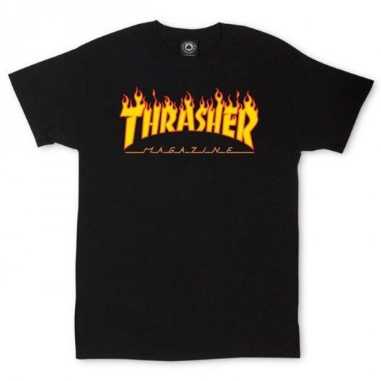 tхrasher-тениска-bbq-скейт-street-style