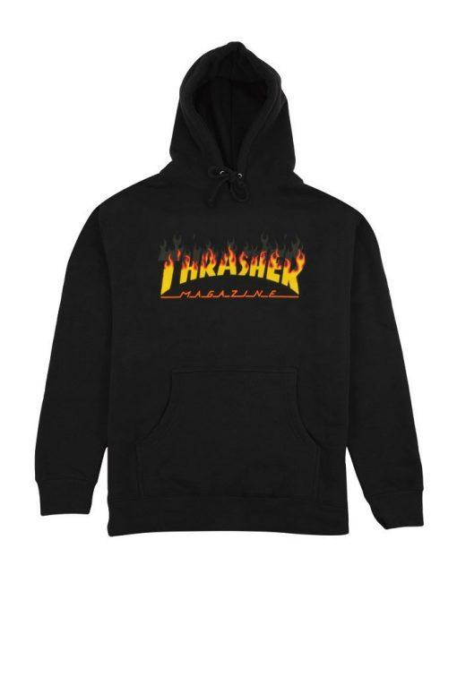 thrasher- суичър-блуза-качулка